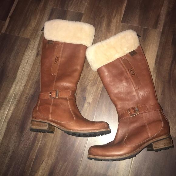 3bd72b4911b UGG Langley Chestnut Winter Boots
